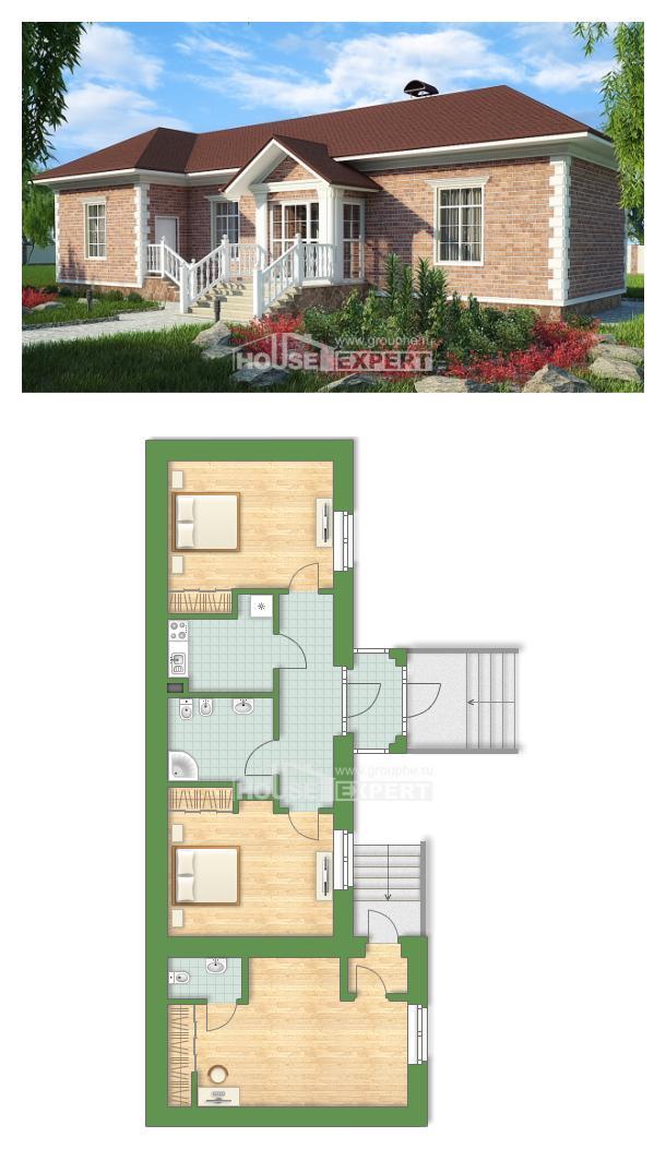 Проект дома 090-001-Л | House Expert